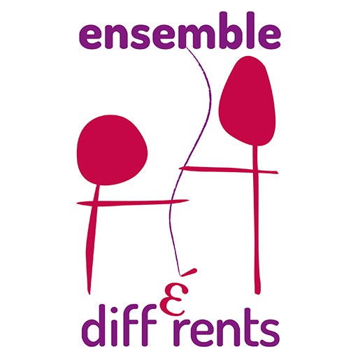 logo ensemble et different